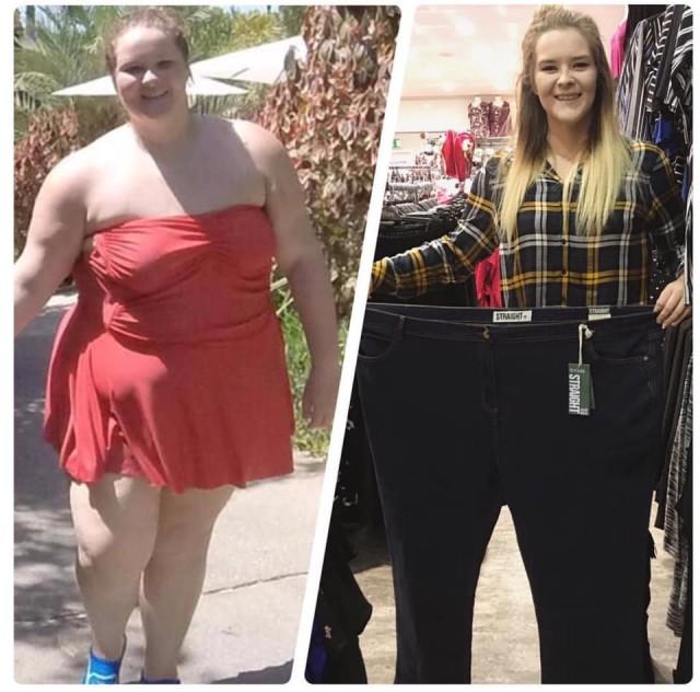 Похудела от зависти: 24-летняя девушка сбросила 76 кг, увидев успехи матери