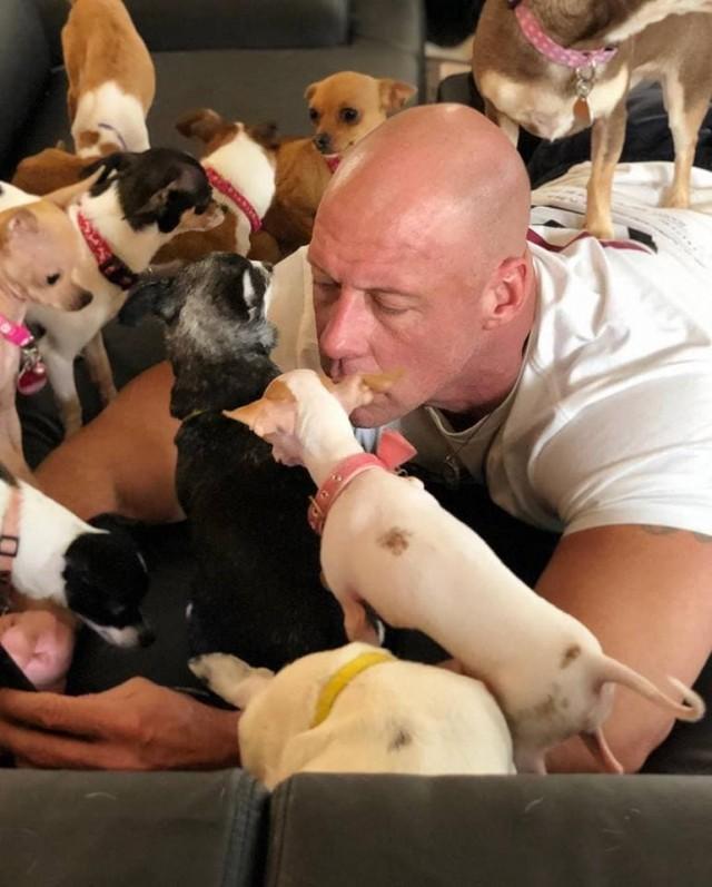 Раньше он не любил маленьких собак, а теперь у него их 37! А все началось с удивительной истории....