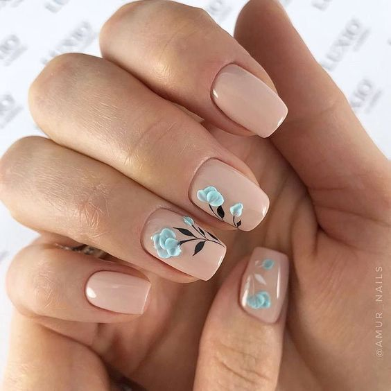 Маникюр весна 2019: ТОП-30 идей интересного дизайна ногтей