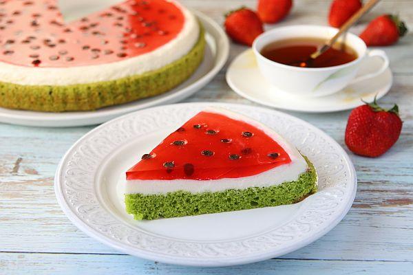 Торт «Арбуз»