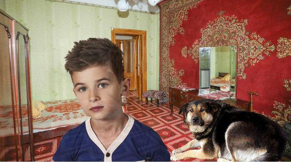 Внук ошарашил бабушку, приведя домой огромную, грязную собаку